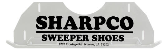 Sharpco Sweeper Shoes
